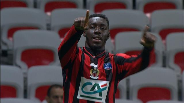 Timing de Germain et opportunisme de Mendy : le 1er but de Nice en vidéo