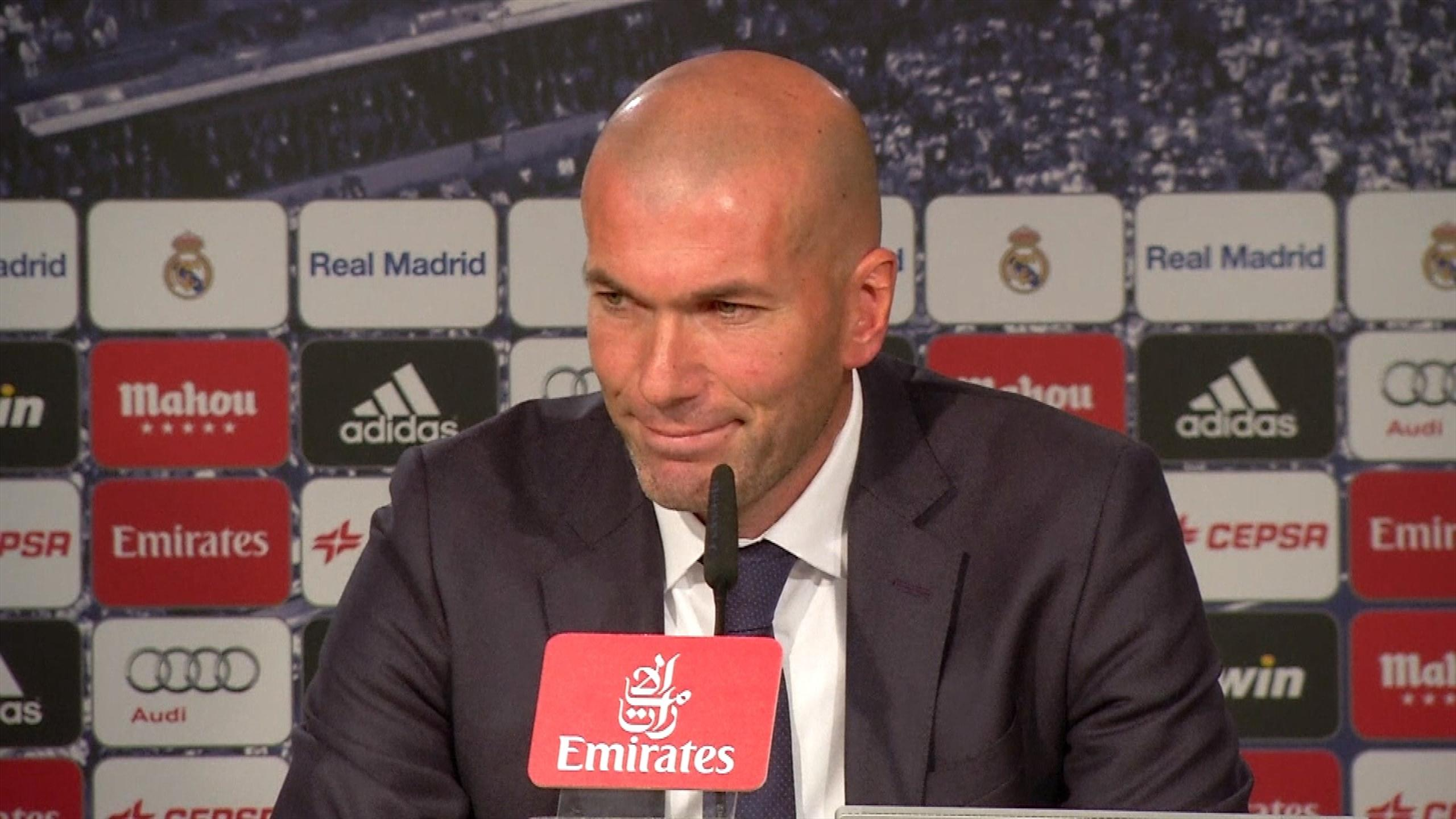 Zidane officially presented & first practice as new Head coach