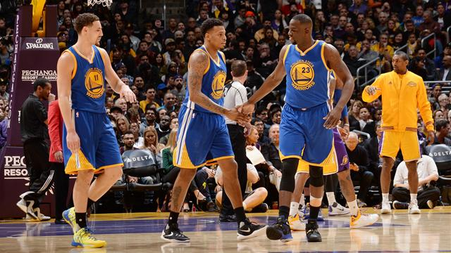 Golden State, San Antonio et Cleveland, cadors implacables