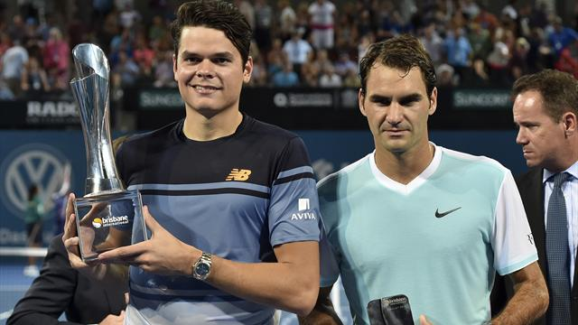 Raonic a fait tomber Federer