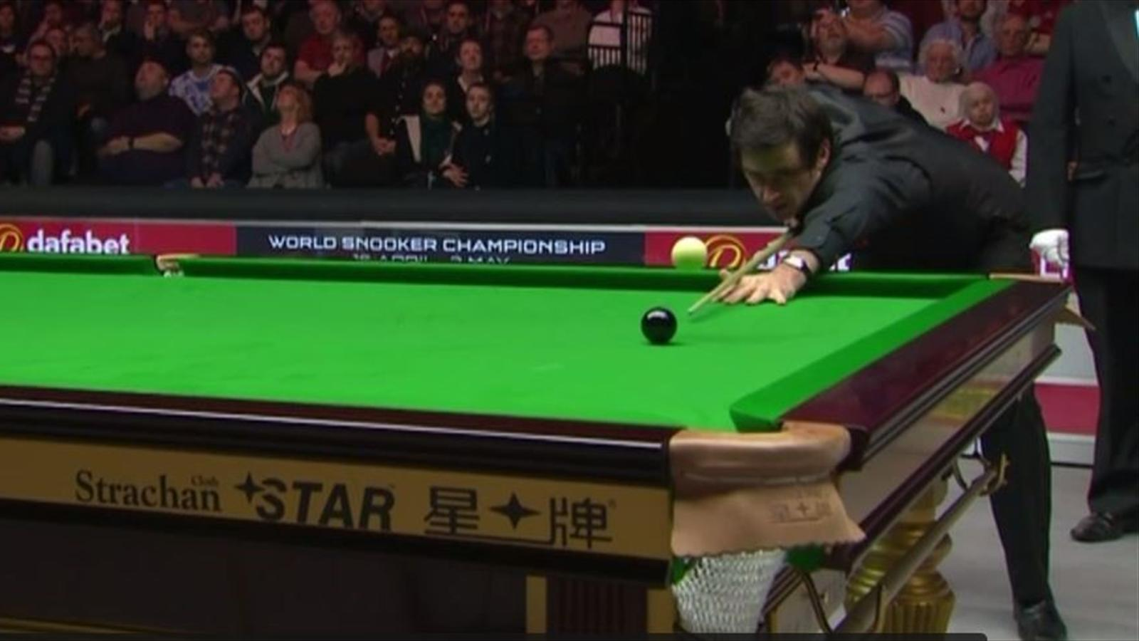Video amazing miscue costs ronnie o 39 sullivan in masters - British basketball league table ...