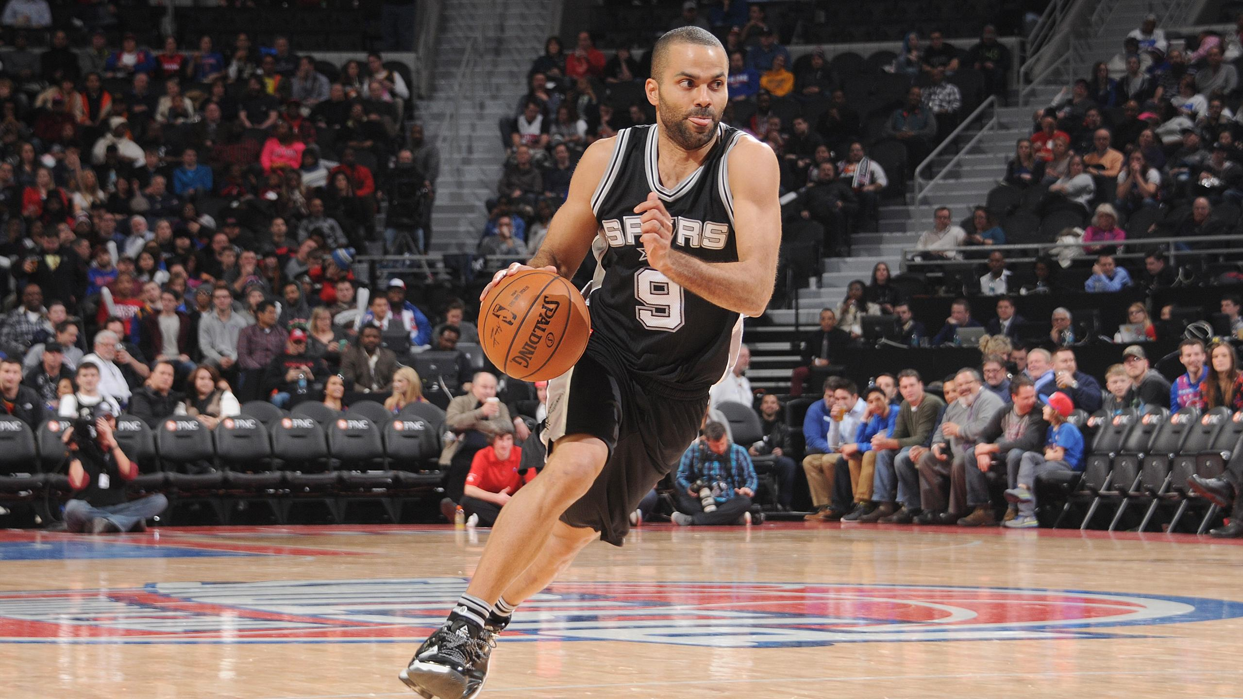 Tony Parker face à Detroit