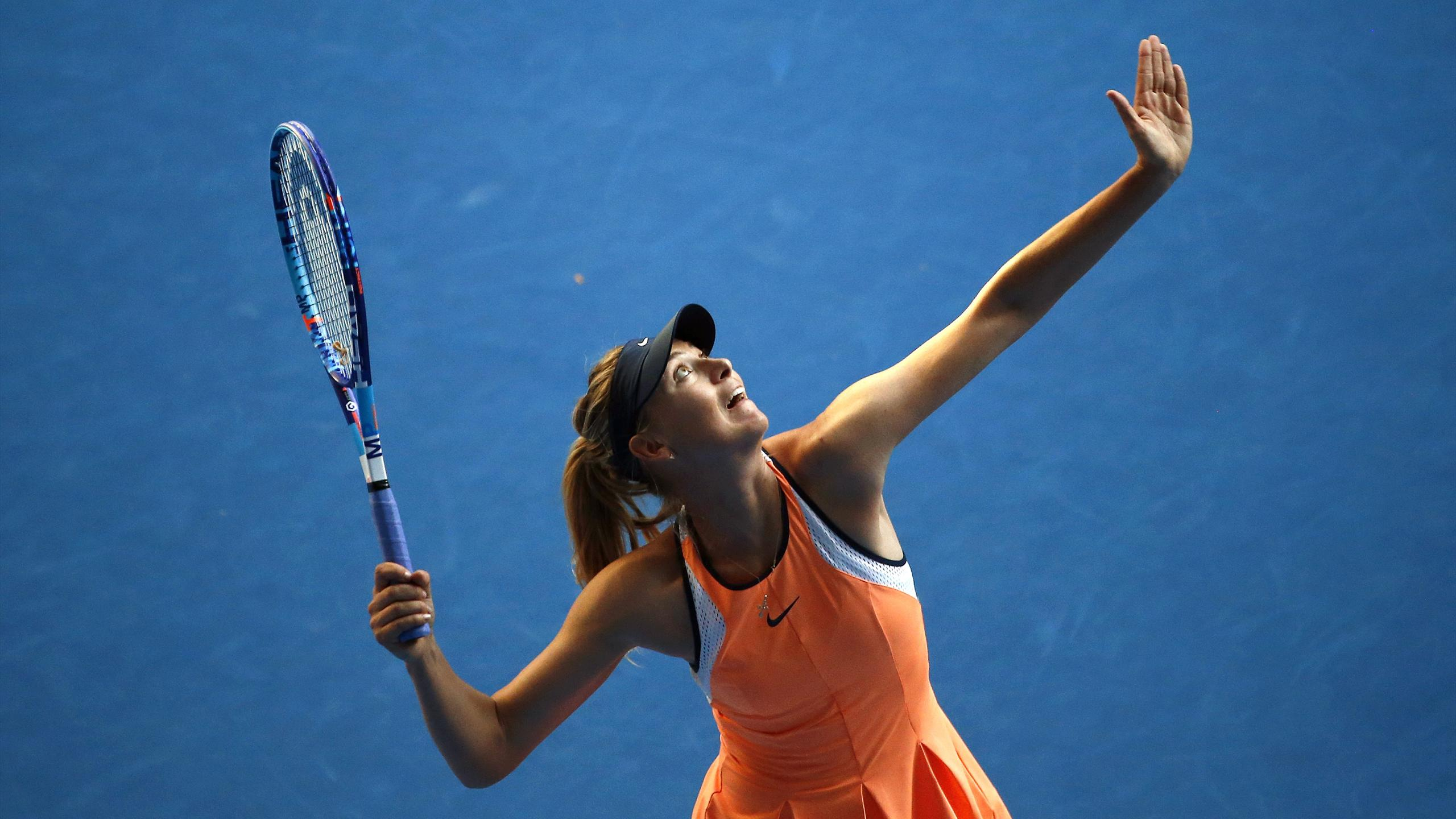 Maria Sharapova - Player Profile - Tennis - Eurosport