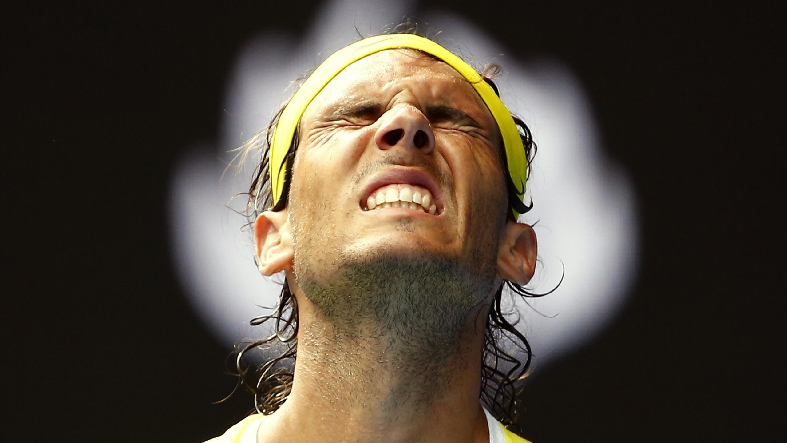 Rafael Nadal loses to Fernando Verdasco at the Australian Open