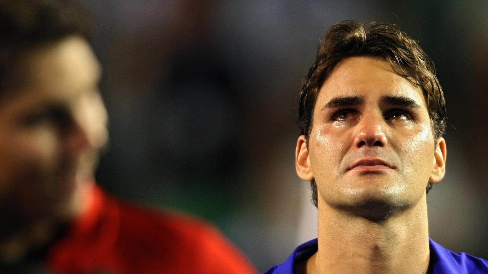 The day when... Nadal made Federer cry
