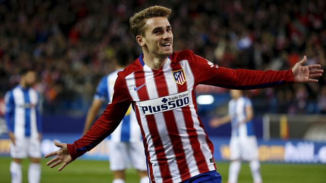 Griezmann was often out of breath when first at Atletico, now he takes the breath away