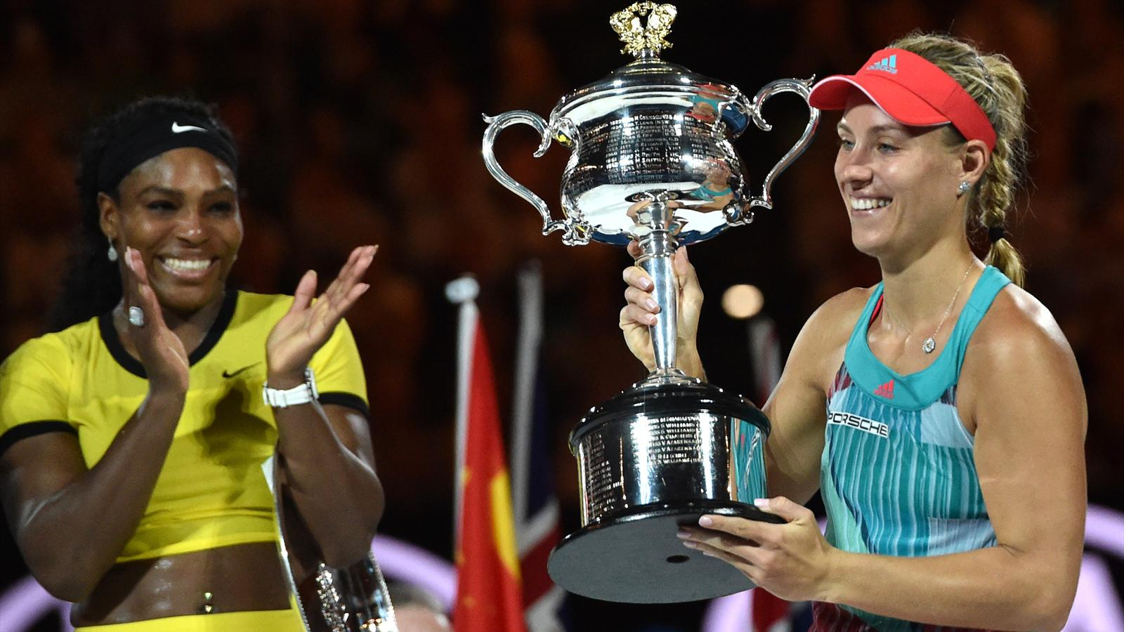 Serena Williams applauds Angelique Kerber