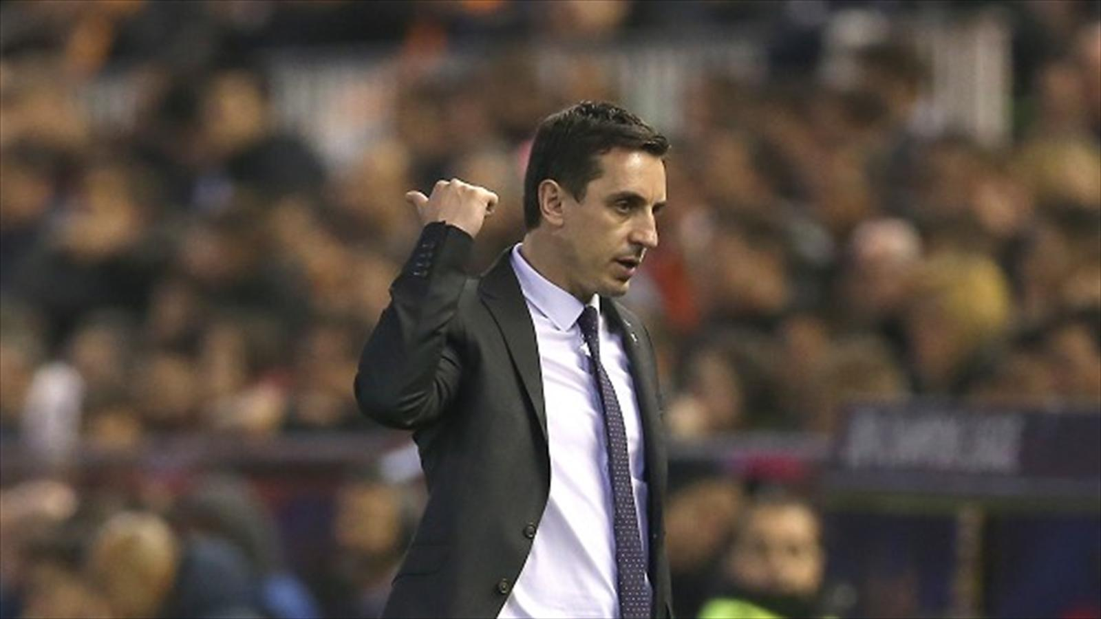 Gary neville will not resign after valencia humiliation at - Orts valencia ...