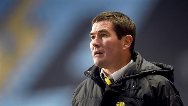 Nigel Clough happy to see Burton come through Chesterfield