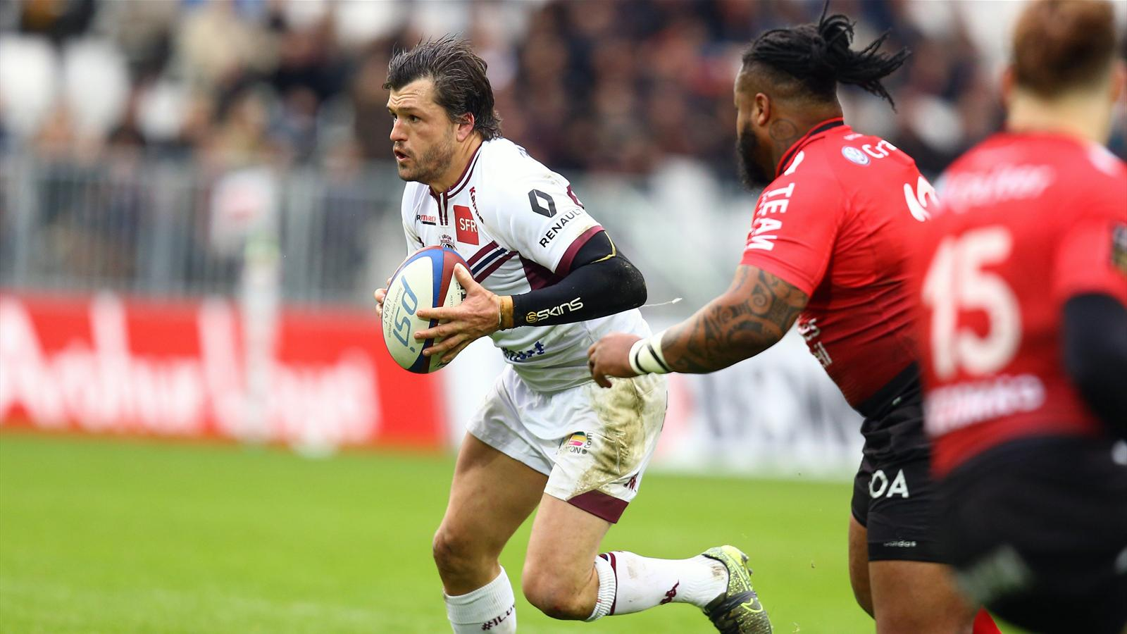 Adam Ashley-Cooper (Bordeaux-Bègles) face à Toulon - 14 février 2016