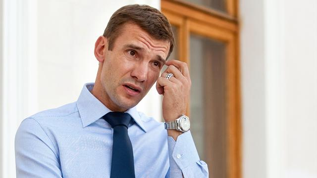 Shevchenko named as Ukraine head coach