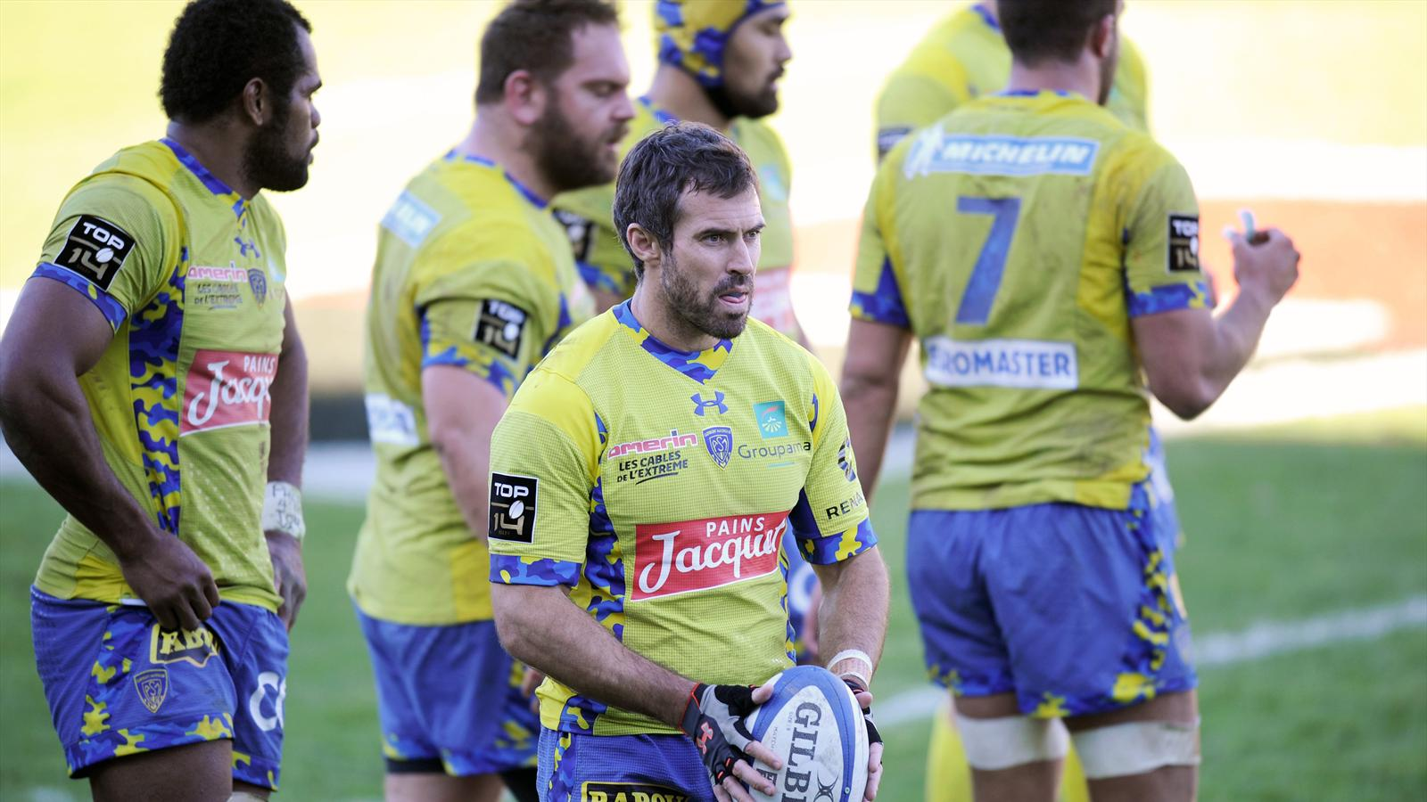 Brock James (ASM Clermont) - 20 février 2016
