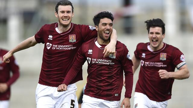 Round-up: Northampton set club record with win over Wycombe