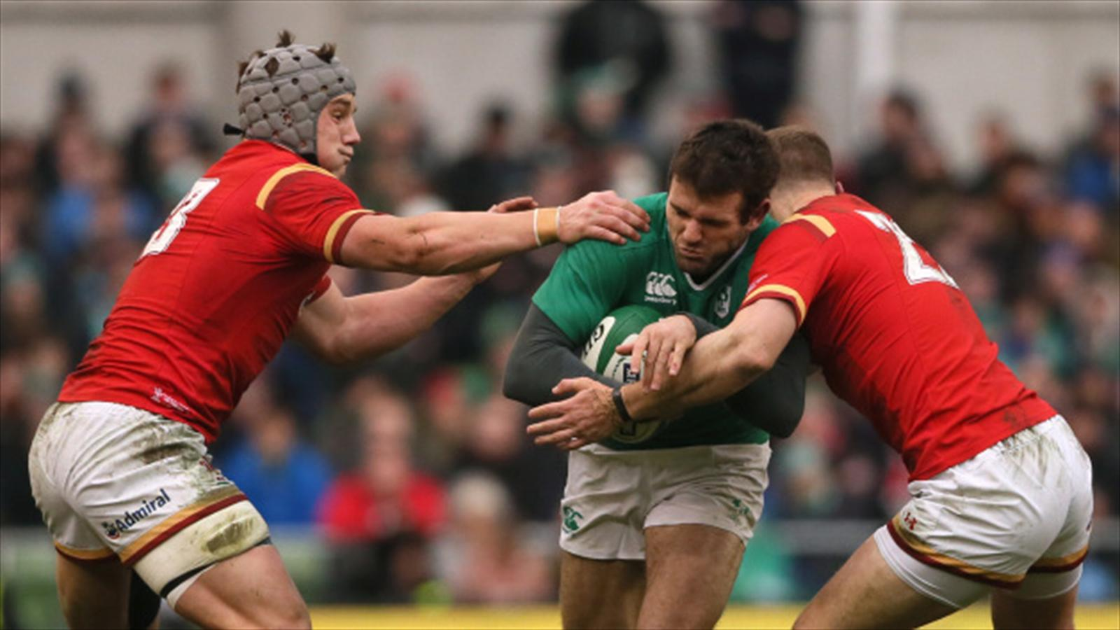 Ireland centre jared payne a doubt for england clash with - Rugby six nations results table ...
