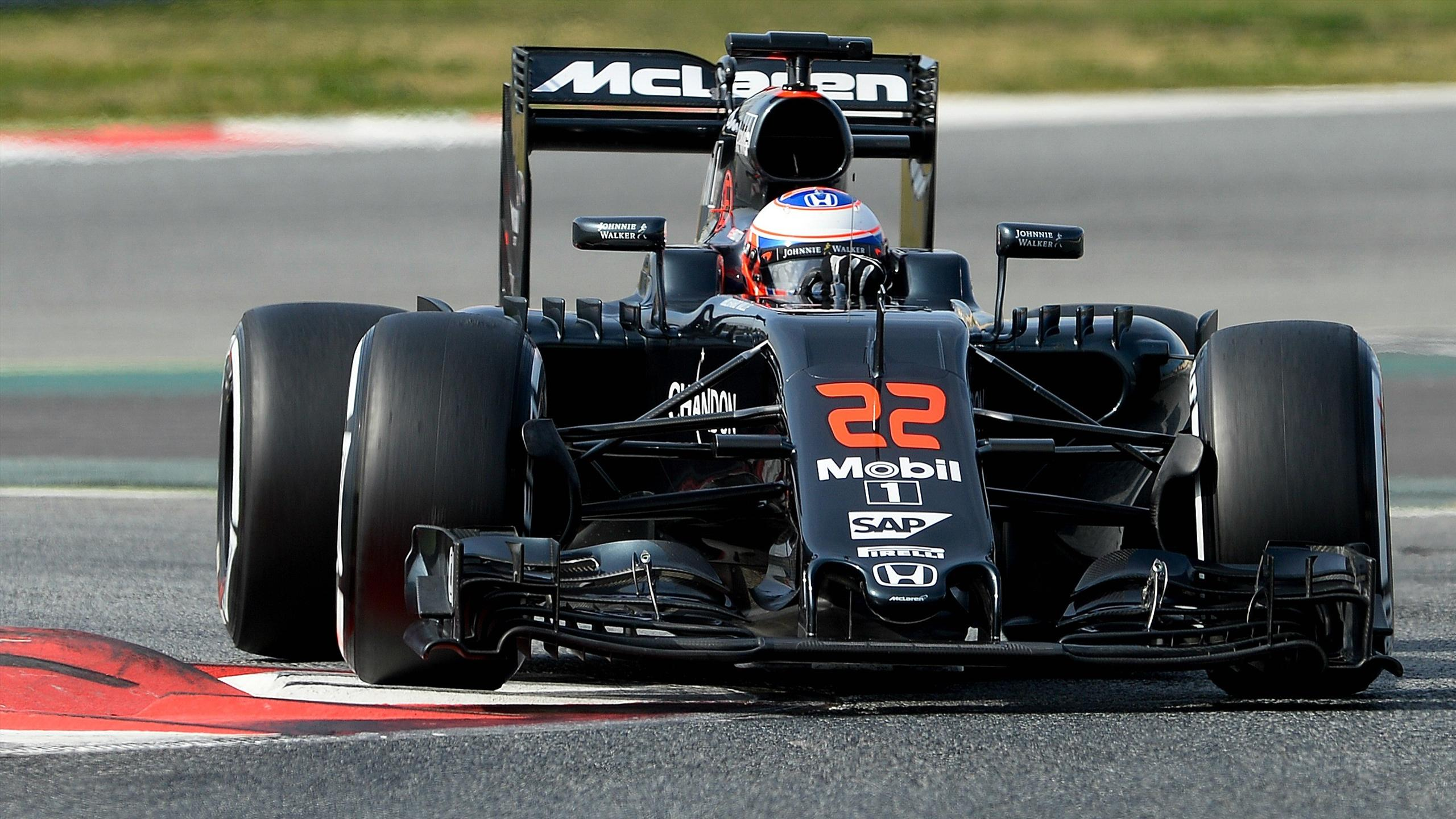 Jenson Button (McLaren) - Tests Montmelo 2016