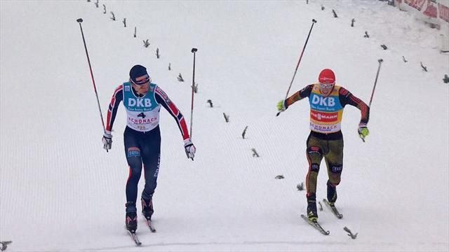 Krog disqualified, loses Nordic Combined win to Frenzel