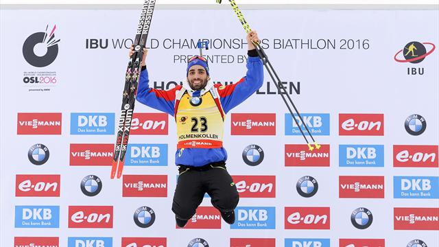 Imbattable sur 20km, Fourcade poursuit son sans-faute royal