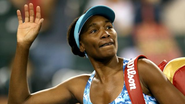 Venus Williams rate son grand retour, les Bleues déjà à la porte