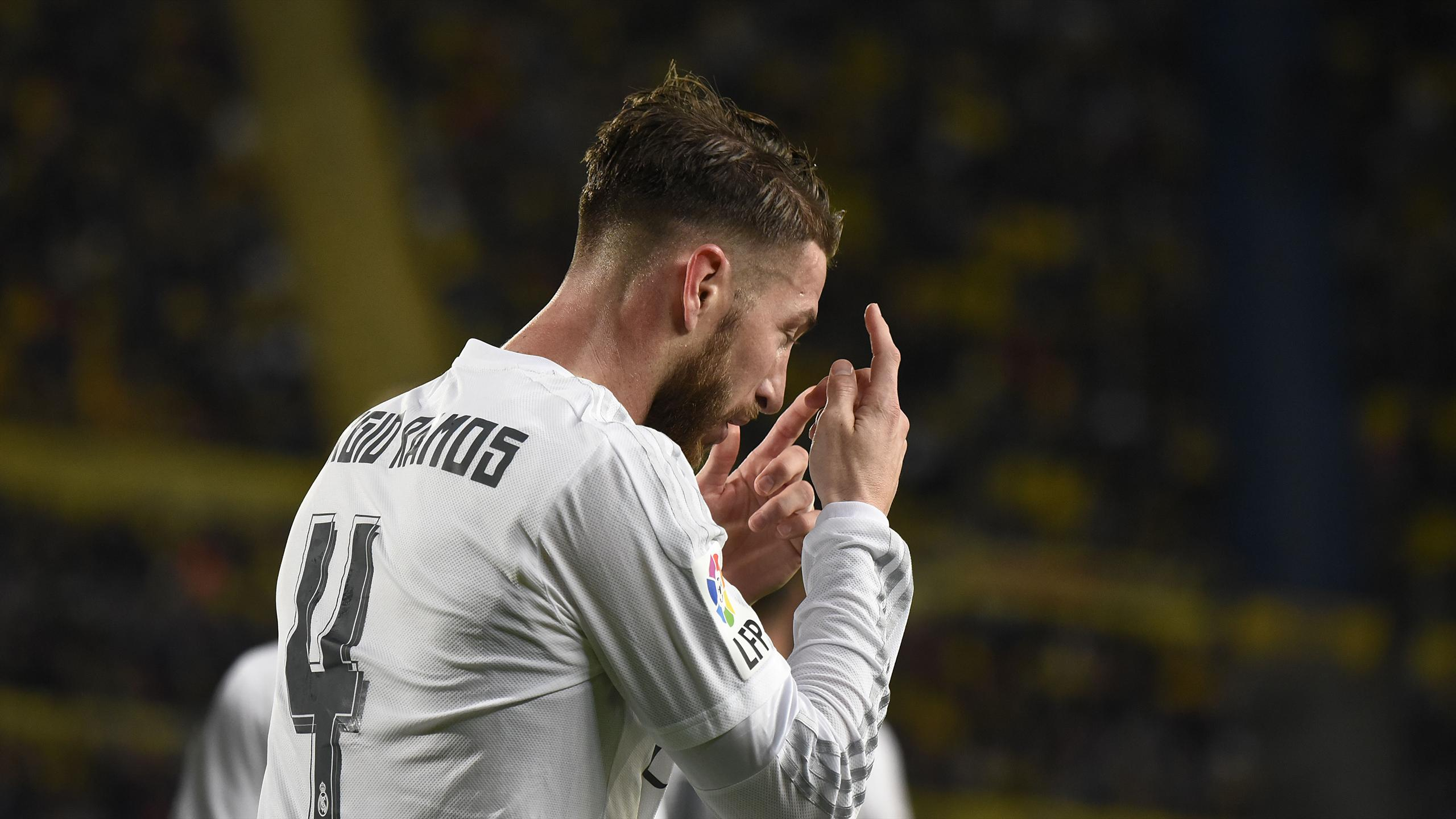 Sergio Ramos was sent off again for Real Madrid
