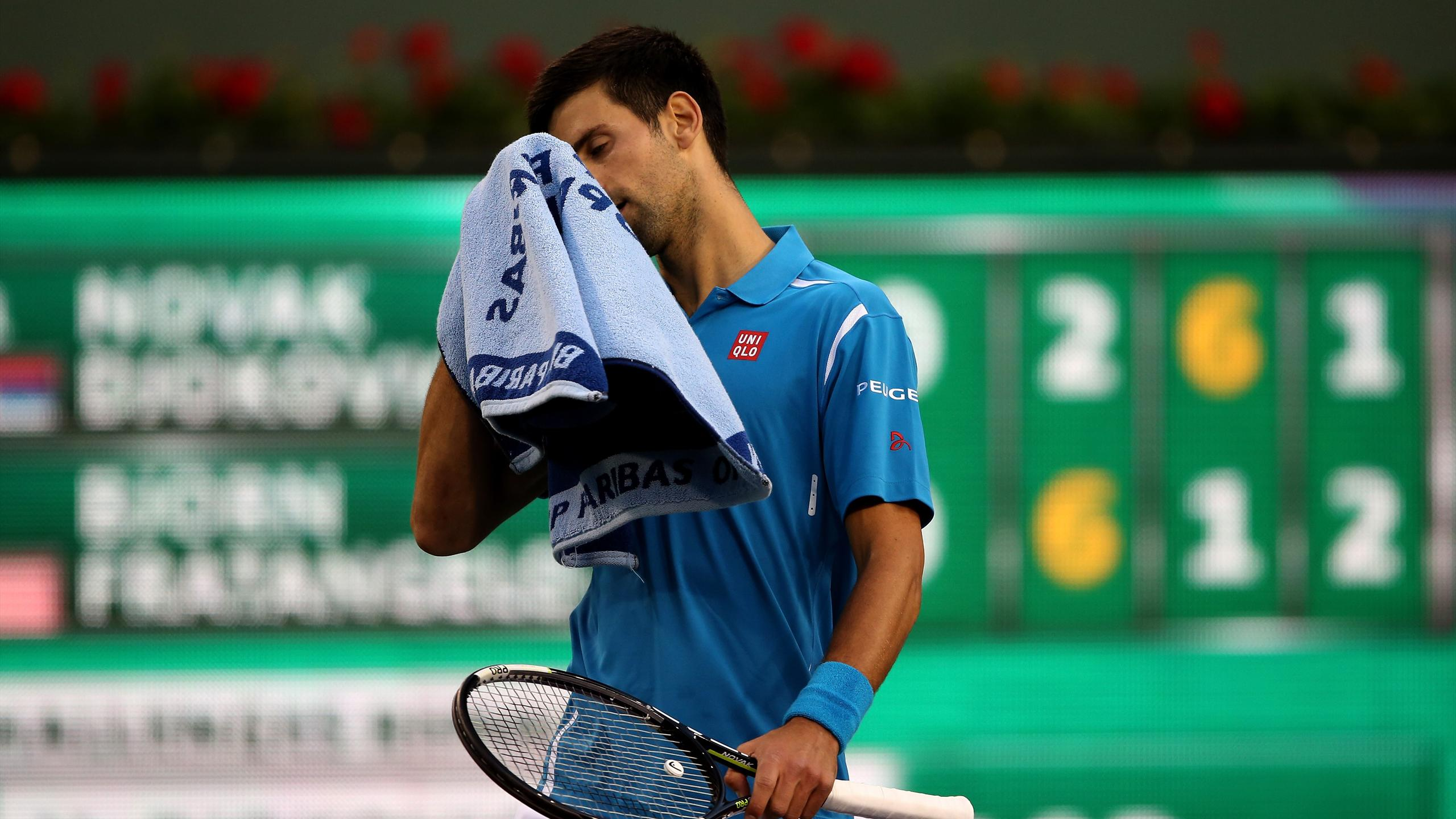 Novak Djokovic en difficulté pour son entrée en lice à indian Wells 2016
