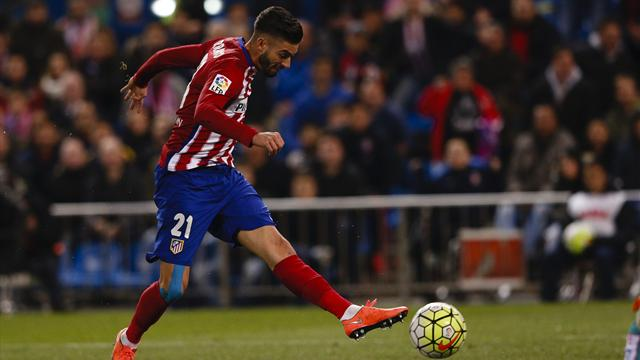 Carrasco, le turbo de l'Atletico