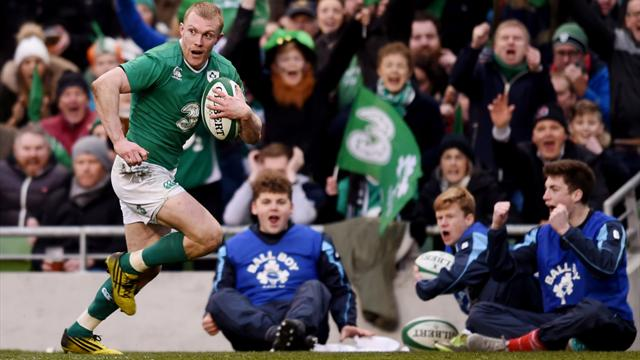 Ireland finish campaign with win over Scots