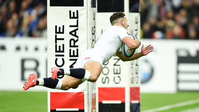 L'Angleterre bat la France et réalise le Grand Chelem (21-31)