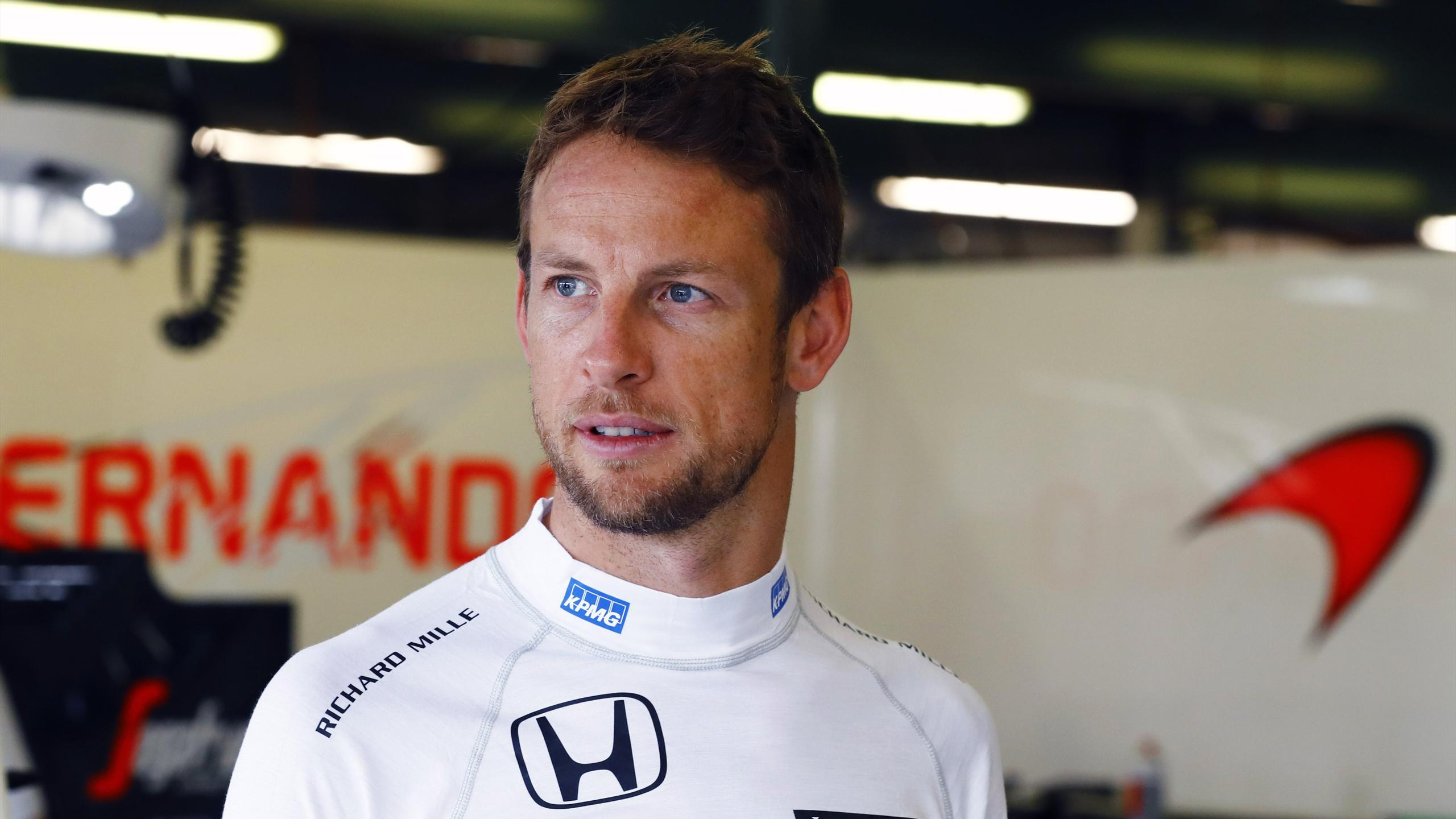 Jenson Button (McLaren) - GP of Australia 2016