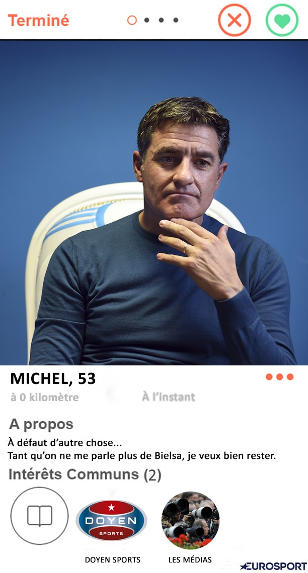 Tinder Foot : Michel à l'OM