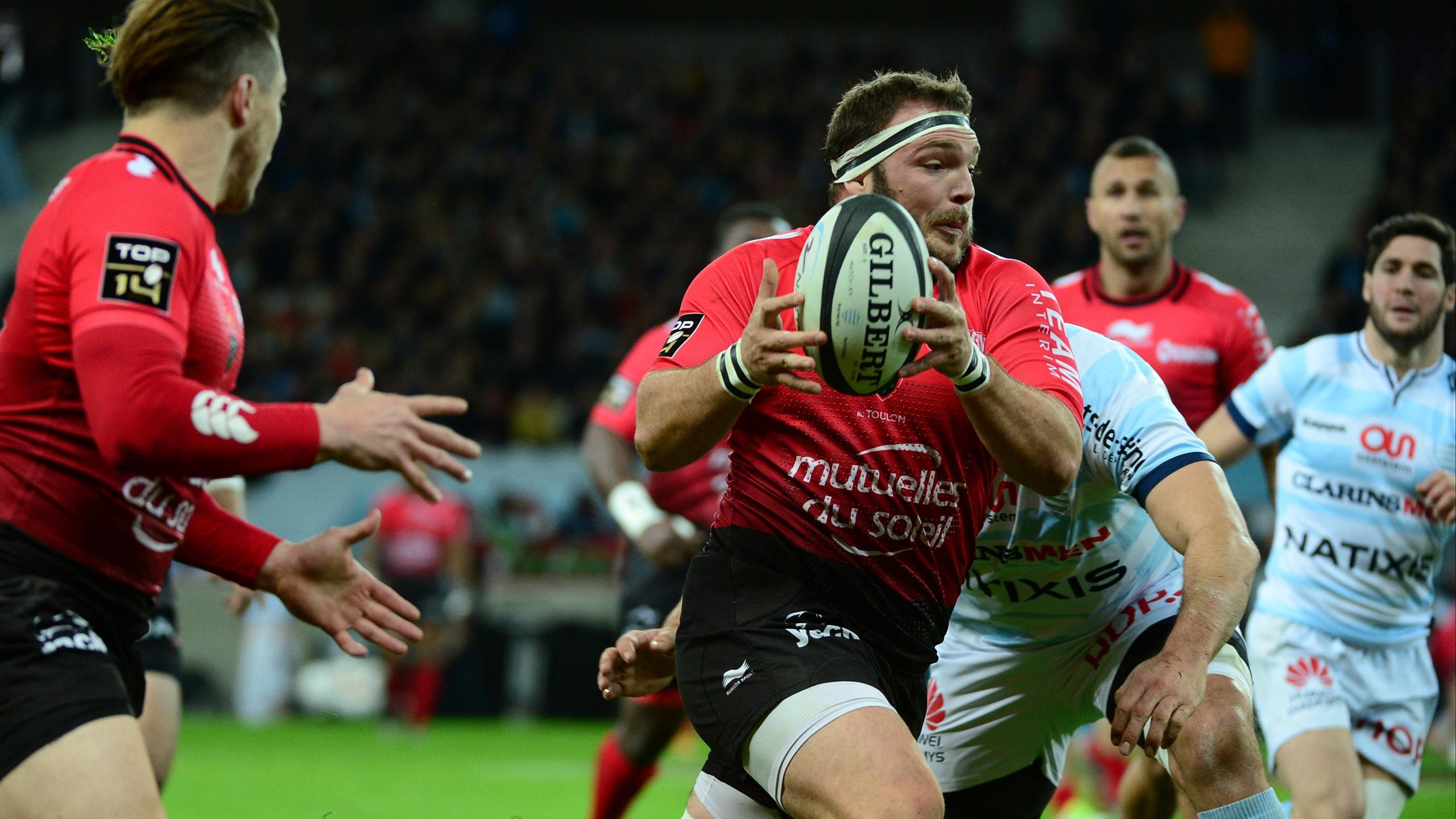 Jean-Charles Orioli (Toulon) face au Racing 92 - 26 mars 2016