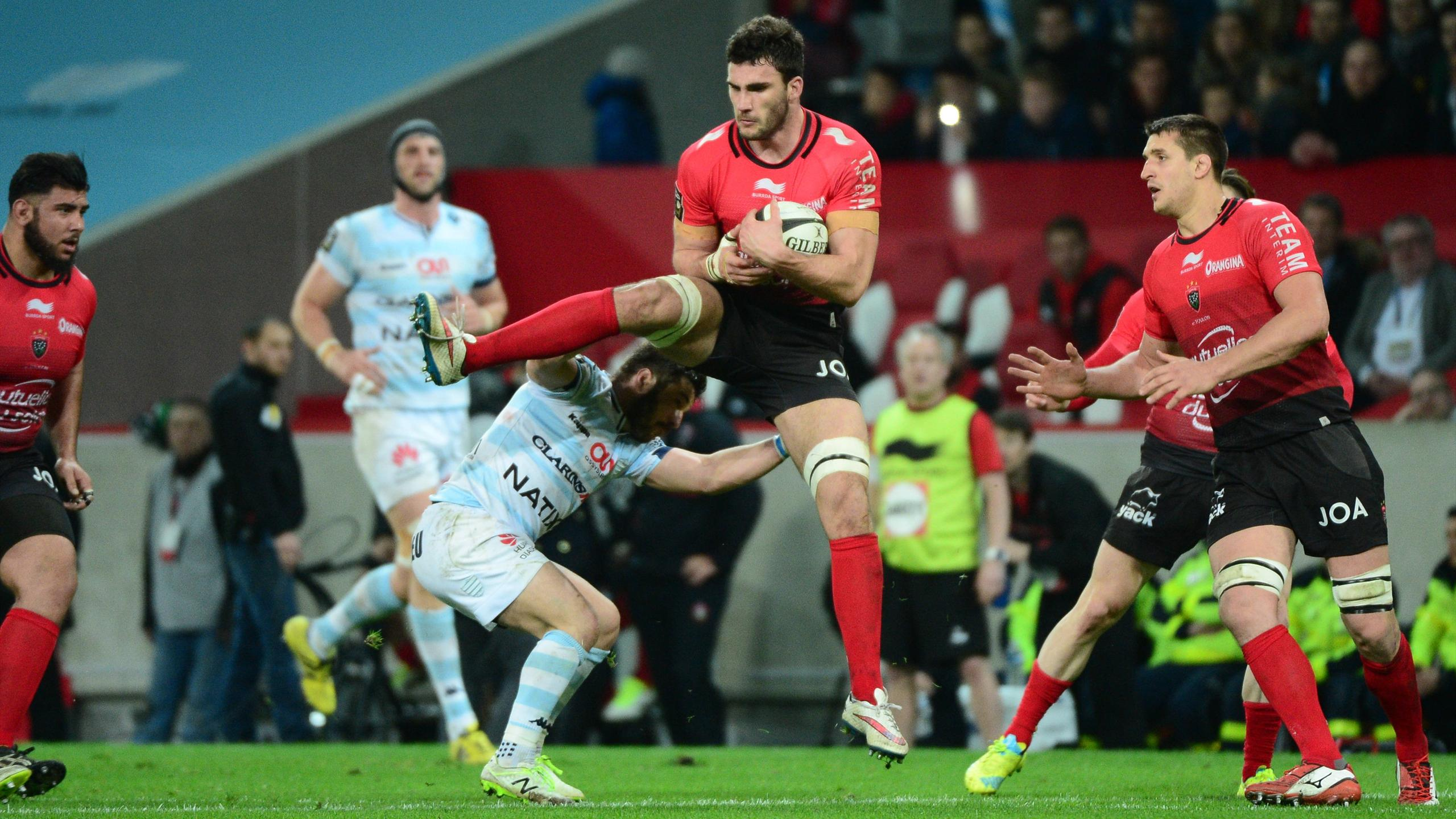 Charles Ollivon (Toulon) face au Racing - 26 mars 2016