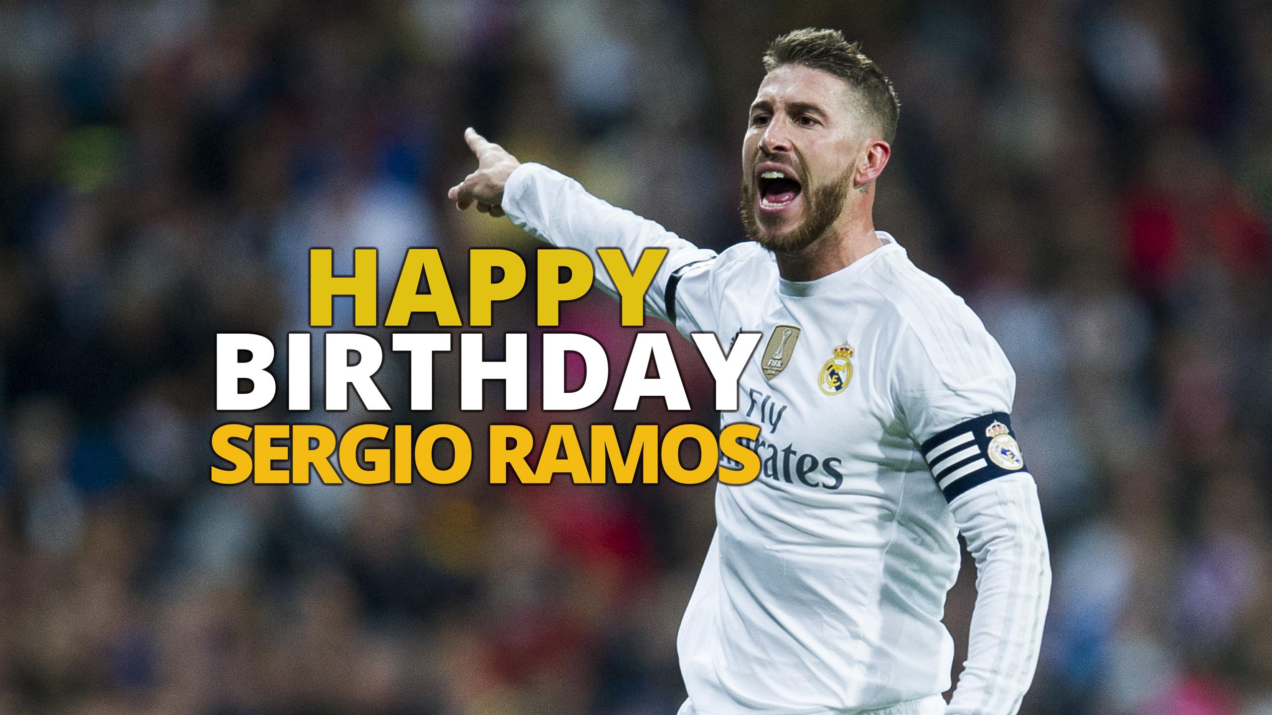 Sergio Ramos - Happy Birthday