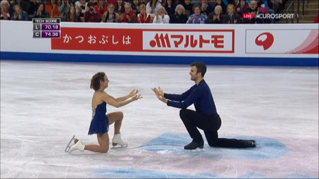 Duhamel and Radford win pairs World Championship