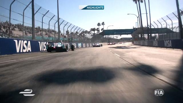 Watch highlights from Long Beach as Di Grassi takes win