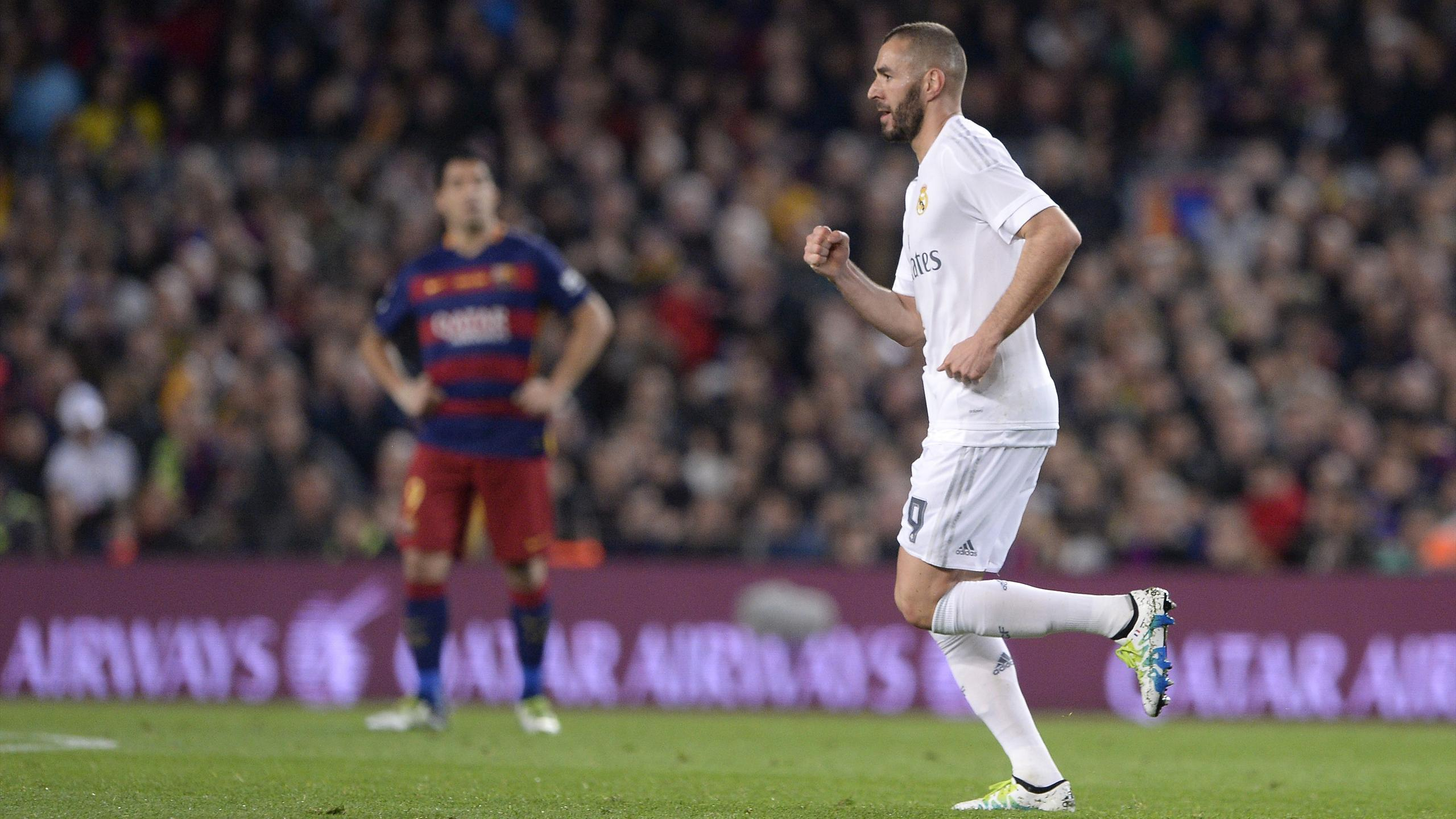 Benzema (Real Madrid) buteur face au Barça