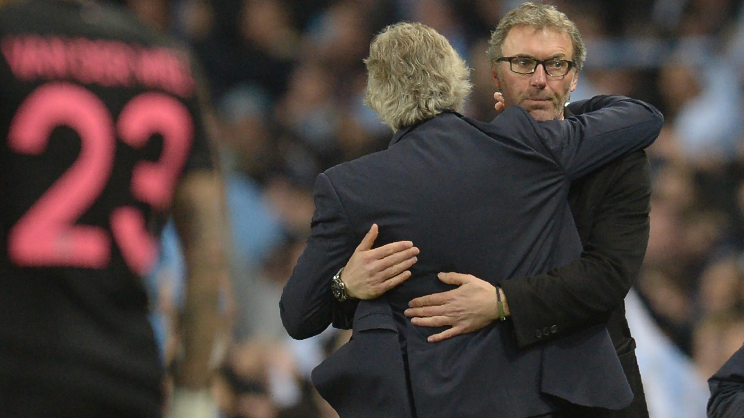 Laurent Blanc (PSG) à l'issue de la défaite sur la pelouse de Manchester City en avril 2016
