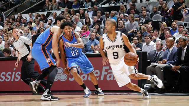 Spurs destroy Thunder with 73-point first-half blitz