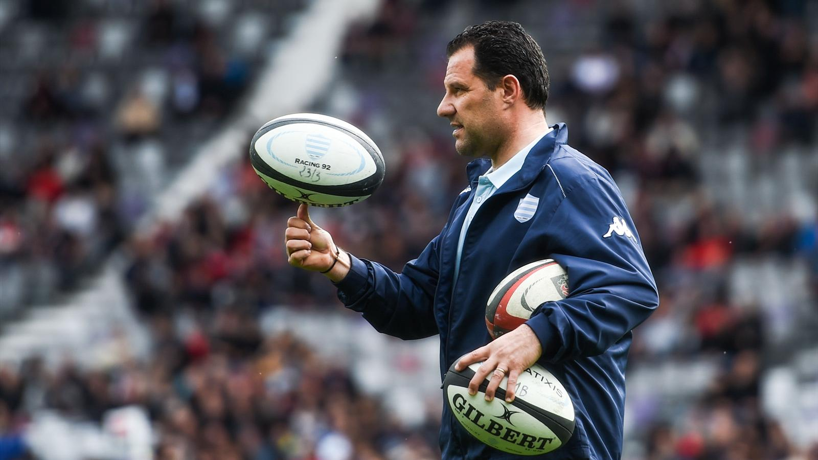 Laurent Labit, l'entraîneur des 3/4 du Racing 92