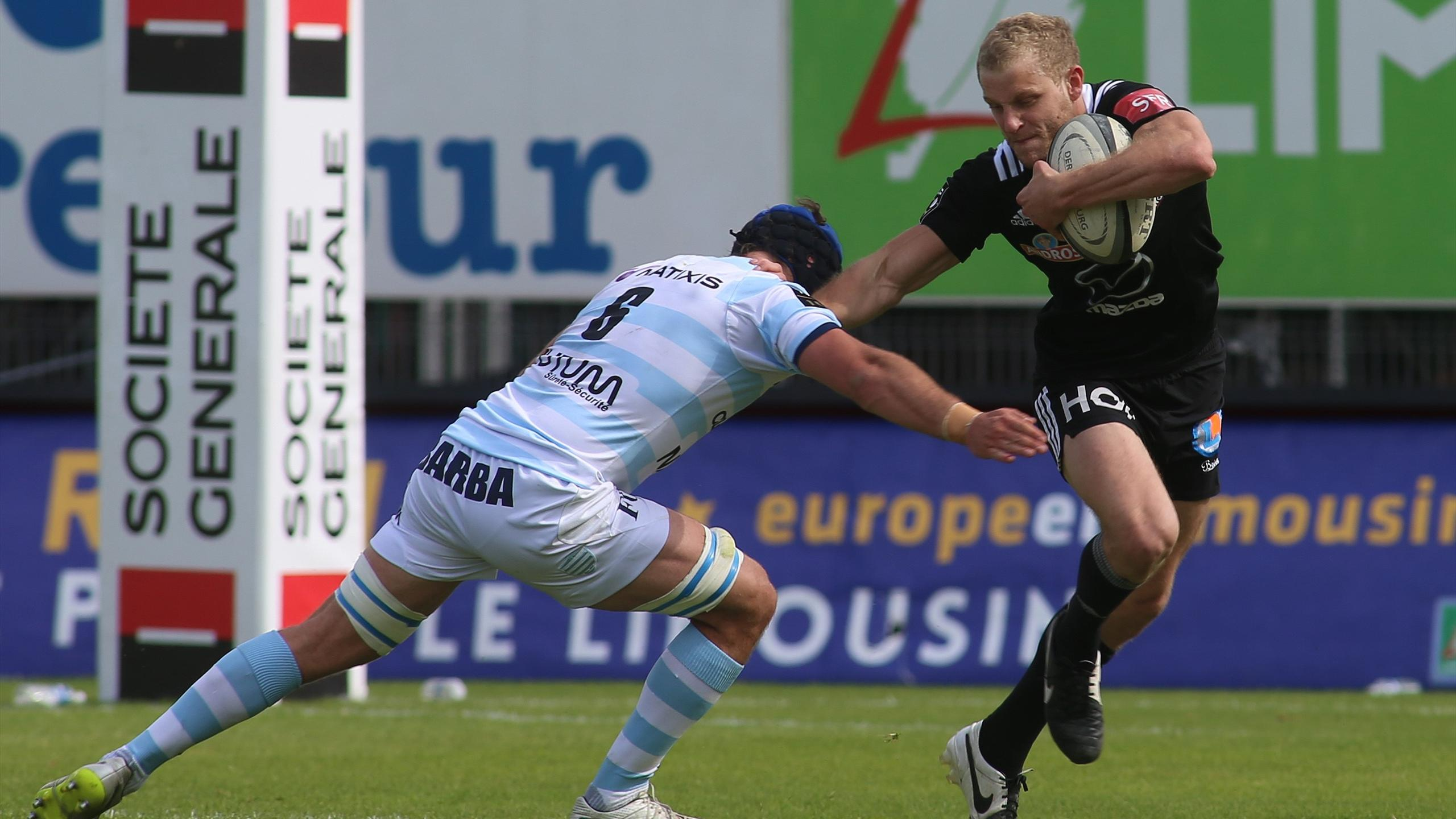 Guillaume Namy (Brive) face au Racing - 7 mai 2016