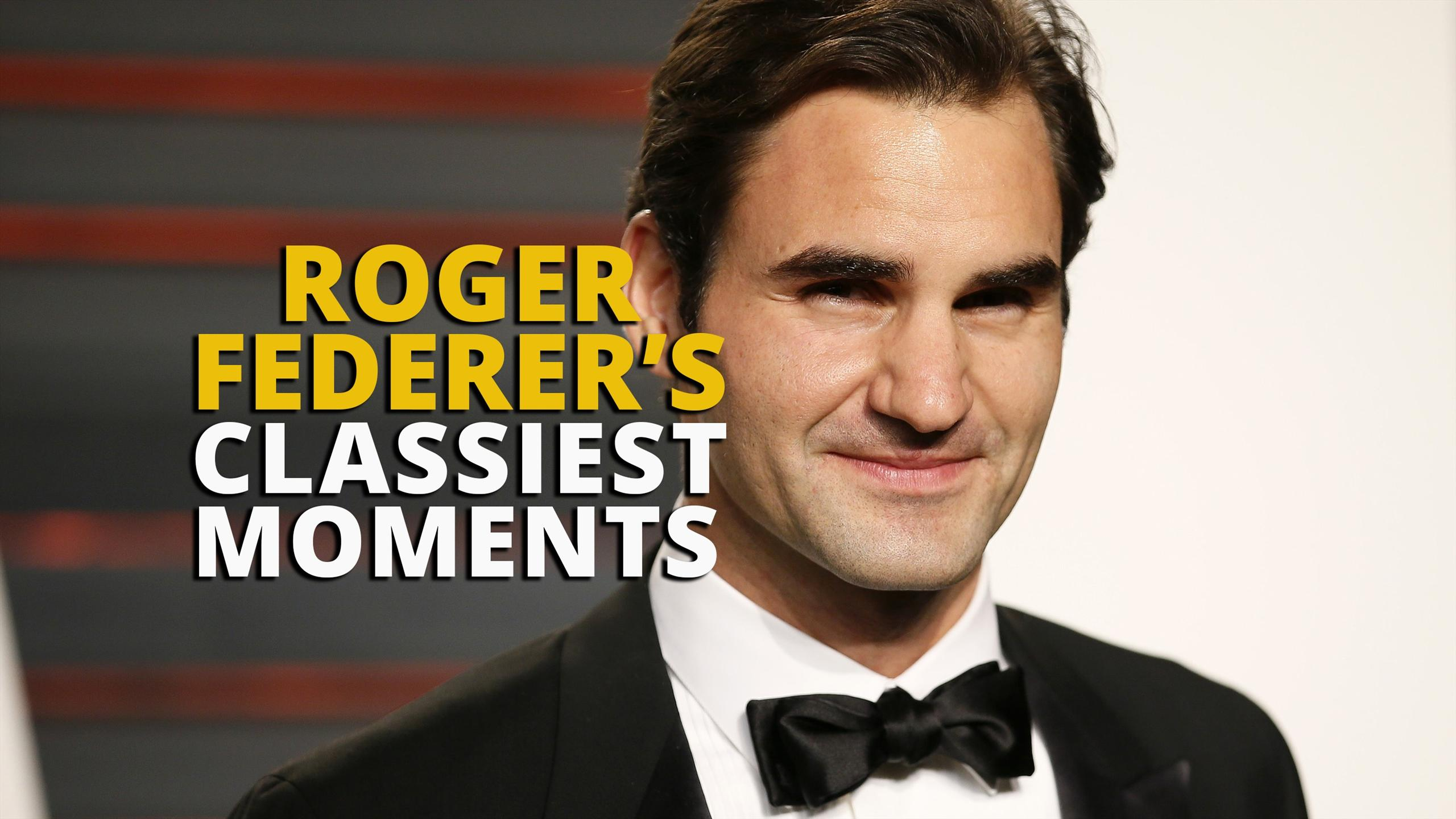 Roger Federer's classiest moments