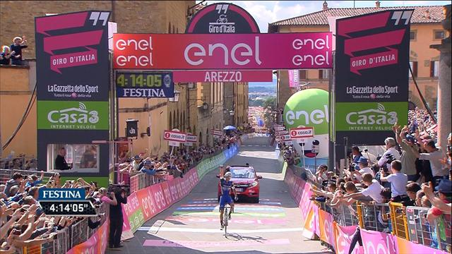 Brambilla wins Stage 8 after breakaway