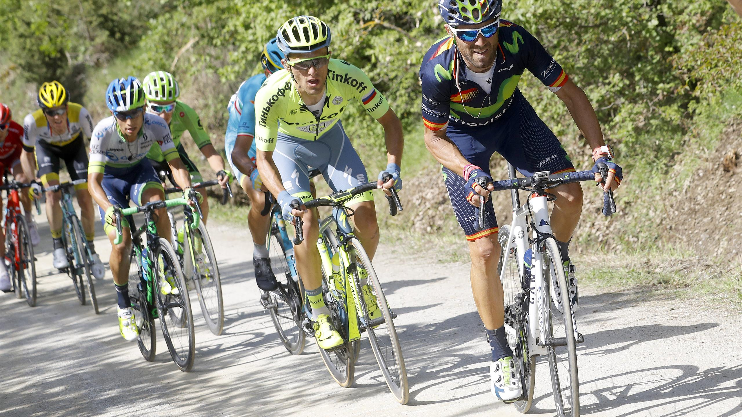 Sutherland not surprised by Movistar teammate Valverde's Giro GC contention