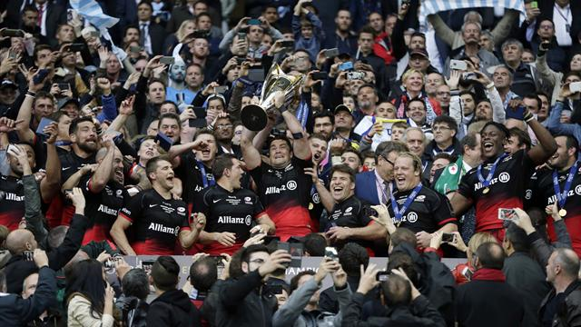 Saracens beat Racing 21-9 to win Champions Cup