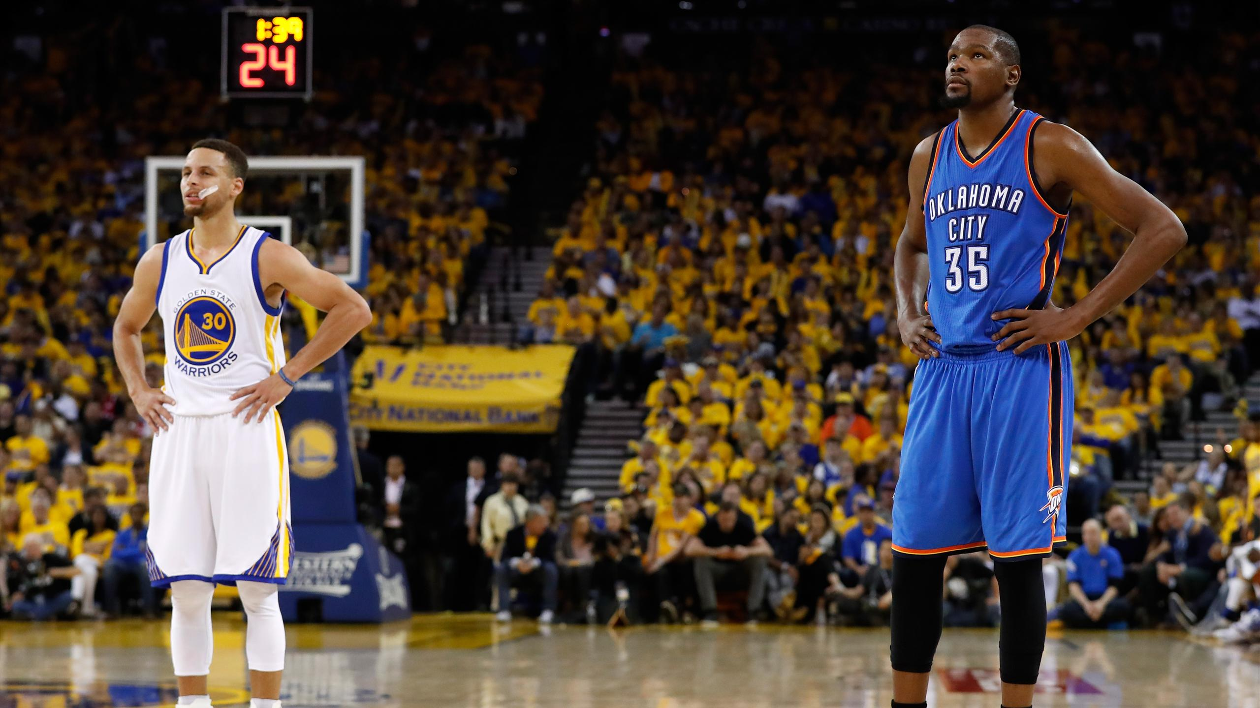 Oklahoma City Thunder - Golden State Warriors (Curry /Durant)