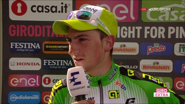 Ciccone thrilled after claiming incredible stage win