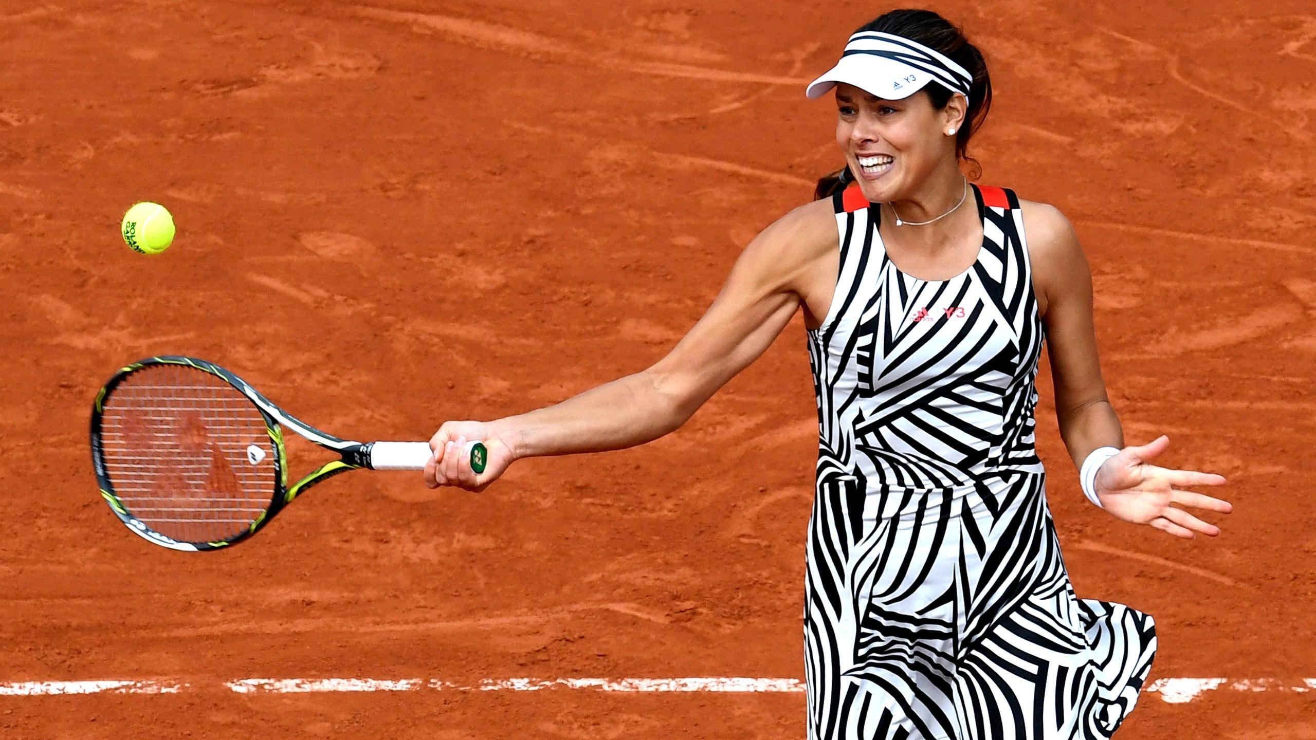 Ana Ivanovic bei den French Open