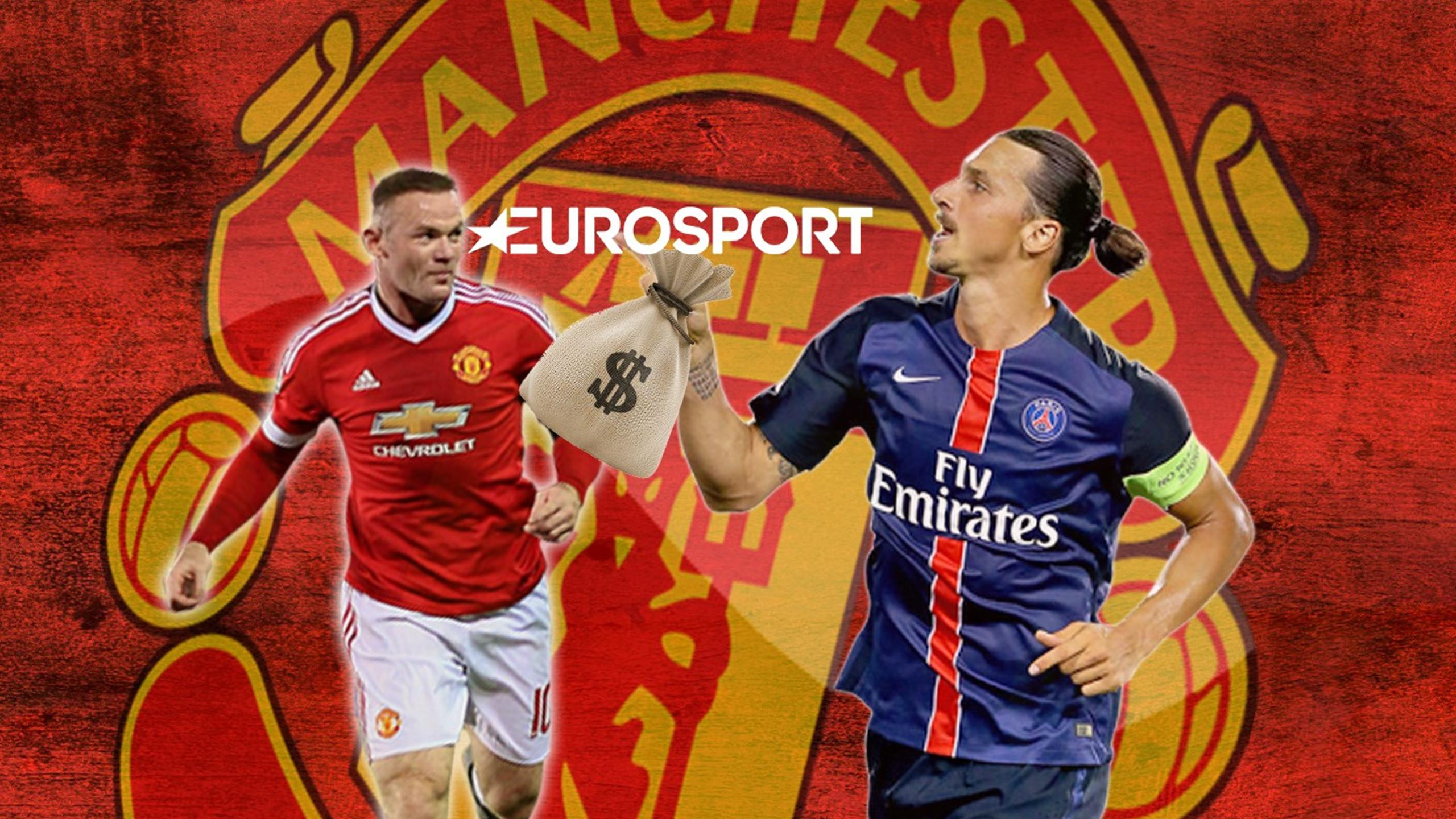 Zlatan will earn more money than United captain Wayne Rooney - Euro Papers