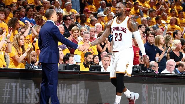 LeBron fires Cleveland Cavaliers into NBA Finals