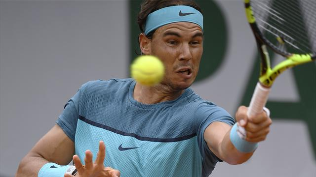 Nadal wins 200th Grand Slam match in style to progress in Paris
