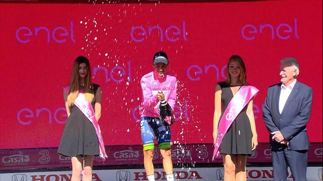 Vincenzo Nibali claims victory on Stage 19